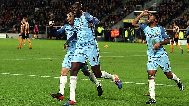 Premier League: Gols de Hull City 0 x 3 Manchester City