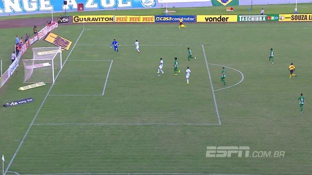Assista ao gol de Londrina 1 x 0 Guarani