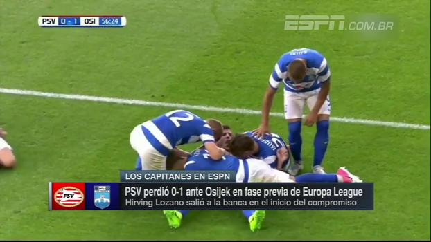 PSV perde em casa para o Osijek e vai ter que decidir vaga na Croácia