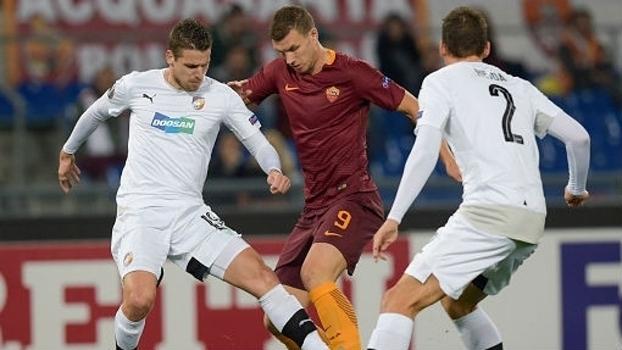 Europa League: Gols de Roma 4 x 1 Plzen