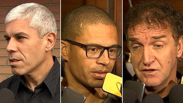 Amigos se emocionam em adeus a Caio Júnior em Curitiba