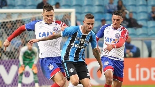 Brasileiro: Gol de Grêmio 1 x 0 Bahia