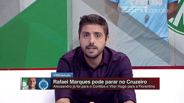 3af6de6cca Rafael Marques no Cruzeiro  Nicola atualiza as informações de uma possível  troca