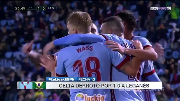 Veja os melhores momentos da vitória do Celta de Vigo por 1 a 0 contra o Leganés