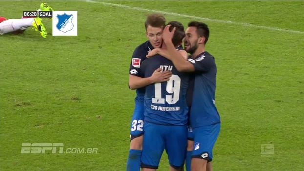 Gnabry faz gol do meio-campo, Hoffenheim atropela Leipzig e chega ao 5º lugar