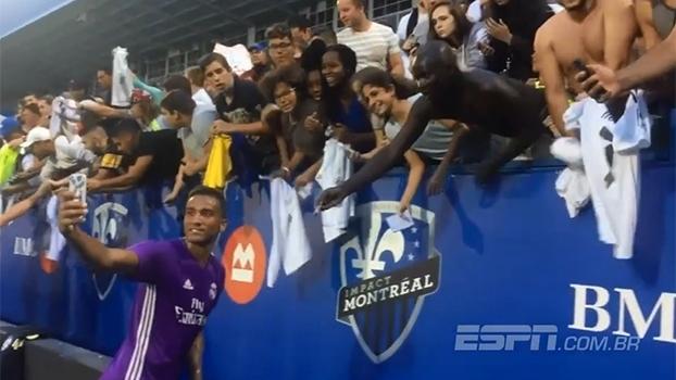 Em pré-temporada no Canadá, Real Madrid treina forte e conta com torcida animada