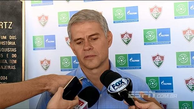 Presidente do Fluminense diz que parceria com o América visa diminuir o número de viagens do time
