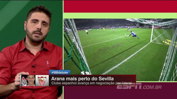 Nicola: Sevilla aumenta proposta por Arana, mas não chega em valor desejado pelo Corinthians