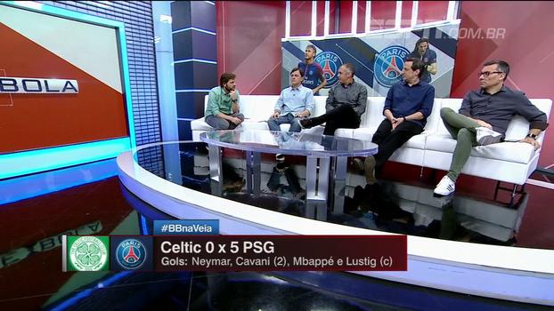 Eduardo Baptista ressalta diferença entre PSG e Celtic, mas vê franceses como um dos favoritos ao título