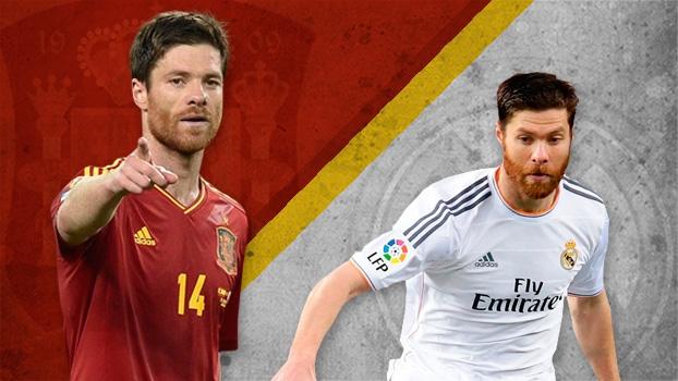 Caras da Copa: Volante de muita pegada e técnica, Xabi Alonso é um dos pilares da Espanha