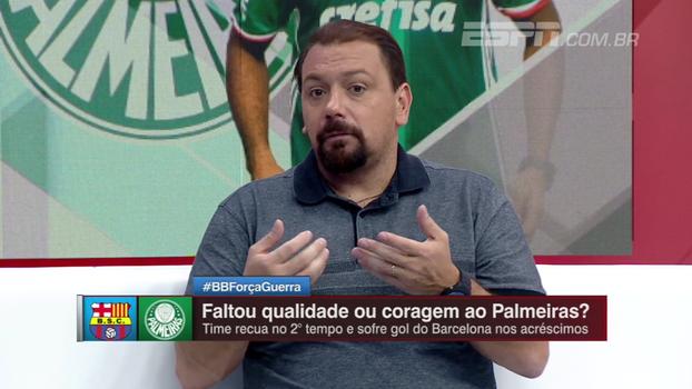 'Um elenco tão caro não tem lateral titular, centro-avante titular e meia reserva'; Alê analisa Palmeiras