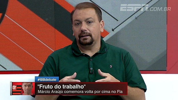 Alê Oliveira: 'Márcio Araújo ganhou a posição de titular com muita eficiência'