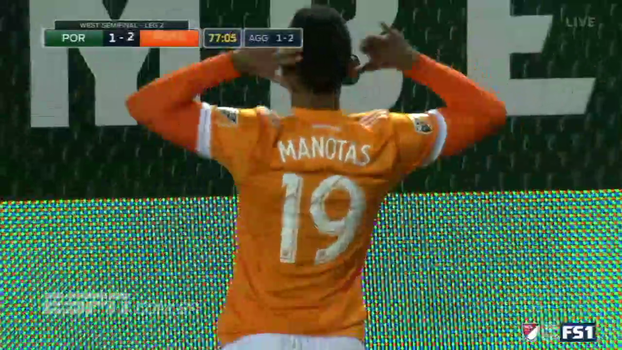 Houston Dynamo surpreende, elimina favorito Portland Timbers e está na final da Conferência Oeste da MLS