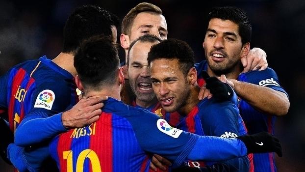 Copa do Rei - quartas de final (ida): Gol de Real Sociedad 0 x 1 Barcelona