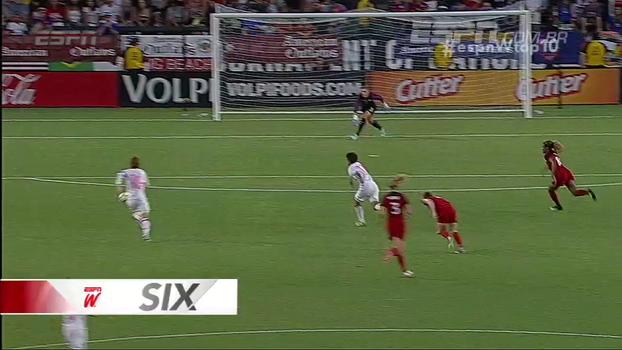 Golaços, tocos incríveis e defesaça na final da Euro; veja o Top 10 do espnW