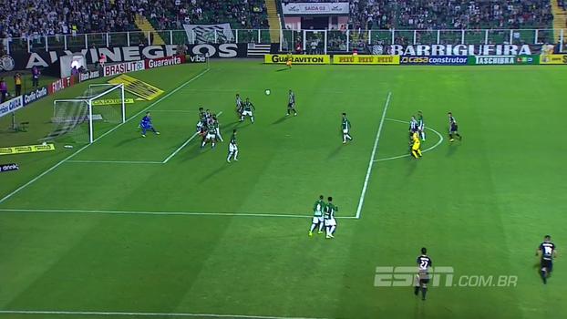 Veja os gols de Figueirense 2 x 1 Guarani
