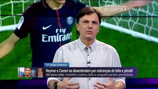 Mauro analisa polêmica com Cavani e diz que Neymar é 'garoto mimado': 'Se quer ser líder, será naturalmente'