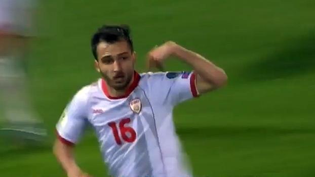 Macedônia faz 3 a 0 em Liechtenstein e pontua pela 1ª vez nas eliminatórias