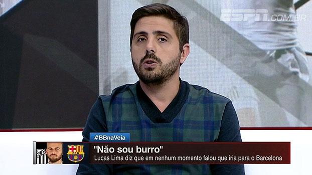 Jorge Nicola explica possível transferência de Paulinho para o Barcelona