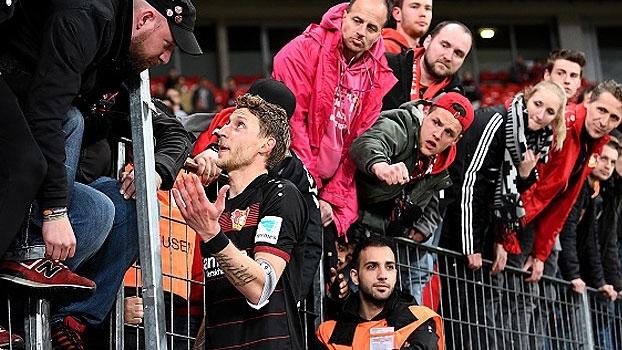 Fase ruim! Com 1 vitória nos últimos 12 jogos, jogadores do Leverkusen dão justificativas à torcida