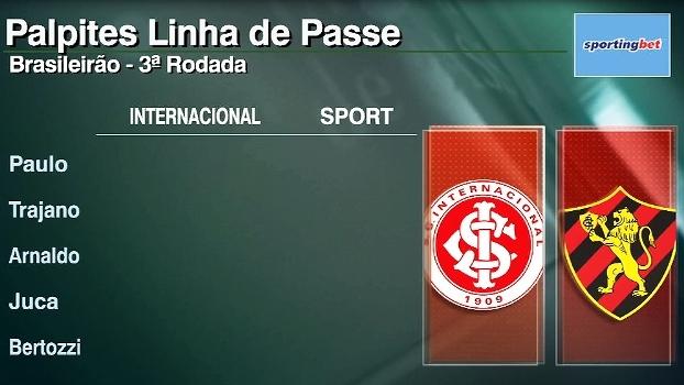 Veja os palpites do 'Linha de Passe' para os jogos da 3ª rodada do Brasileiro