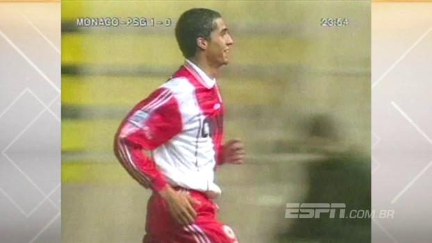 Jovem Trezeguet fez dois, deu cobertura no goleiro, e Monaco aplicou 3 a 0 no PSG em 1997