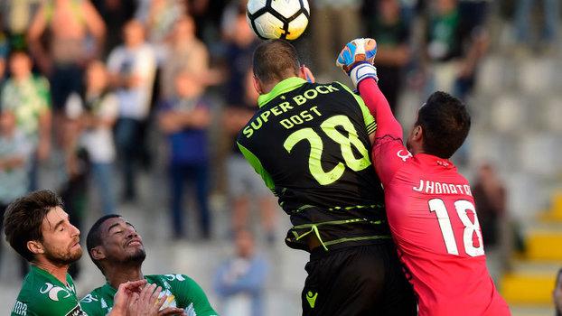 Português: Gols de Moreirense 1 x 1 Sporting
