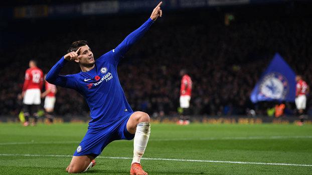 Premier League: Gol de Chelsea 1 x 0 Manchester United