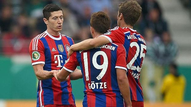 d9ad7e9a06 Copa da Alemanha  Lances de Preussen Munster 1 x 4 Bayern de Munique ...