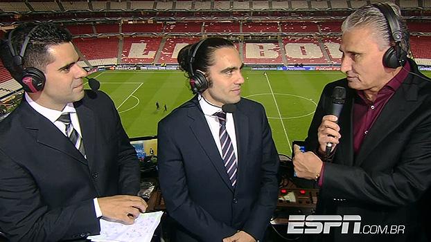 Tite concorda com Simeone em ter escalado Diego Costa: 'Dá alma ao time'