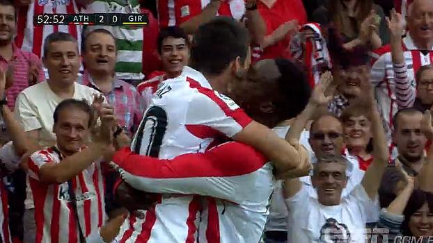 Ex-Valencia marca, Athletic Bilbao vence Girona e segue sem perder na LaLiga