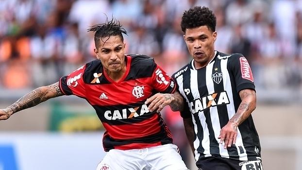 Brasileiro: Gols de Atlético-MG 2 x 2 Flamengo