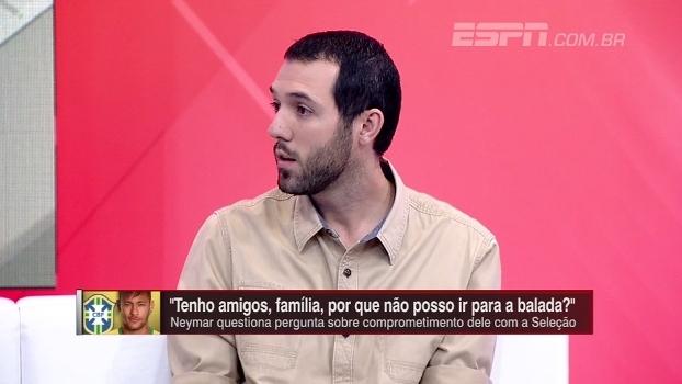 Hofman elogia resposta de Neymar, mas entende questionamento de comprometimento