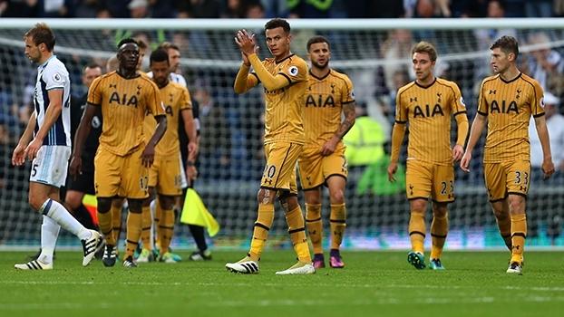 Dele Alli faz no fim, e Tottenham arranca empate contra o West Bromwich
