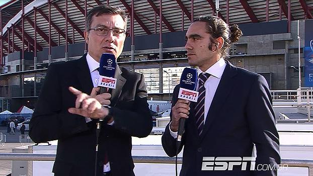 Calçade analisa: 'Com Diego Costa, o Atlético de Madri vai pro risco'