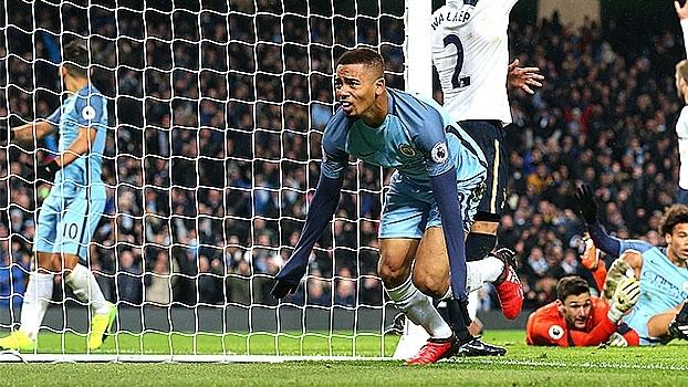 Com direito a gol impedido, Gabriel Jesus estreia no City e põe fogo no jogo; veja o que ele fez