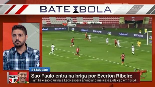Nicola explica negociação de Everton Ribeiro e diz que São Paulo já está em  contato com 78451c49719bb