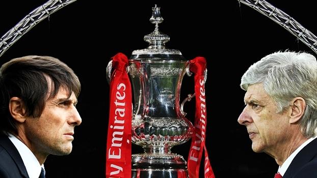 Redenção ou supremacia? Arsenal e Chelsea se confrontam na final da Copa da Inglaterra