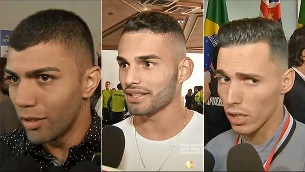 Gabriel, Thiago Maia e Zeca destacam a união do grupo da seleção olímpica para conquistar o ouro