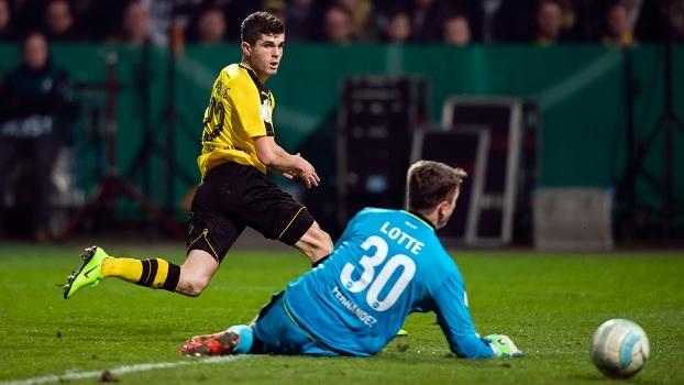 Copa da Alemanha (quartas/jogo único): Melhores momentos de Lotte 0 x 3 Borussia Dortmund