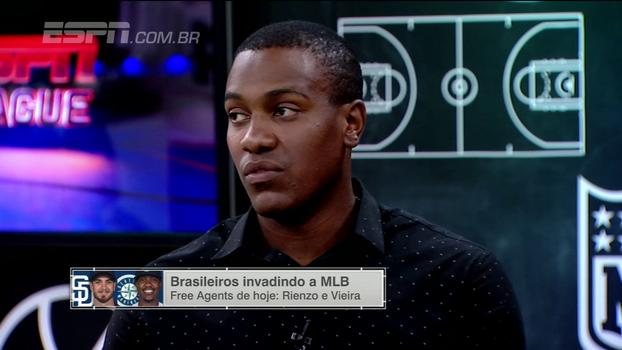 Thyago Vieira comenta sonho de jogar na MLB: 'Tudo é possível, basta você perseverar'