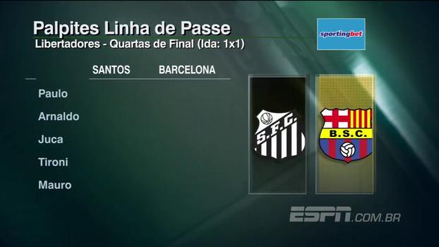 Veja os palpites do 'Linha de Passe' para os jogos da Libertadores e da Sul-Americana