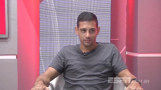 Diego Souza comemora chances na seleção: 'Me dá uma força a mais para jogar'