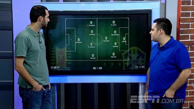 Hofman e Bertozzi analisam seleção brasileira com Firmino no ataque