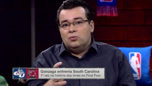 Final Four da NCAA: Rômulo Mendonça analisa jogo cadenciado e físico de Gonzaga