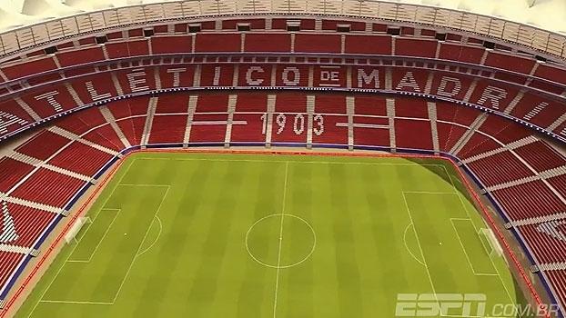 Veja imagens de como ficará o novo estádio do Atlético de Madrid, 'Wanda Metropolitano'