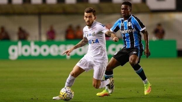Brasileiro: Gols de Santos 1 x 1 Grêmio