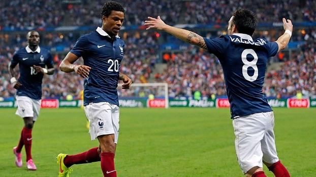 ad62797bf0 Amistoso Internacional  Gol de França 1 x 0 Espanha - ESPN