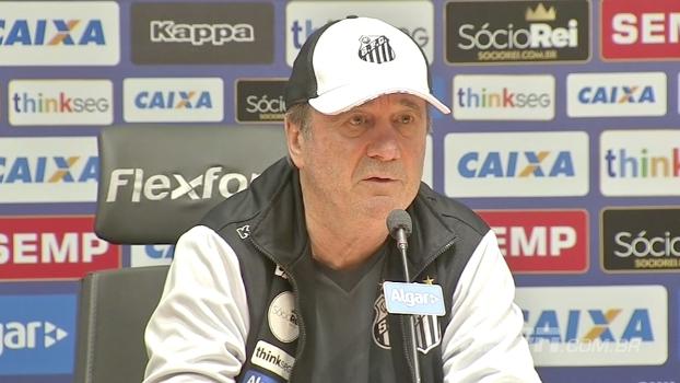 Apesar do resultado, Levir diz que Santos esteve mais próximo da vitória do que o Sport
