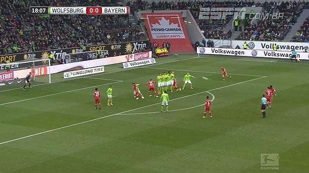 Tempo real: GOL do Bayern! Alaba cobra falta com precisão e abre o placar para os bávaros